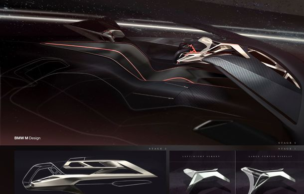 BMW a prezentat conceptul Vision M Next: prototipul cu sistem plug-in hybrid cu 600 CP anticipează viitorul modelelor din gama M - Poza 60
