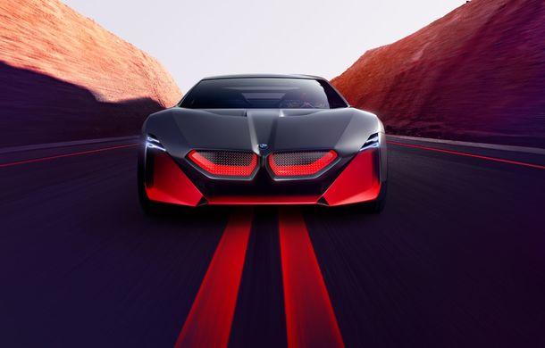 BMW a prezentat conceptul Vision M Next: prototipul cu sistem plug-in hybrid cu 600 CP anticipează viitorul modelelor din gama M - Poza 14