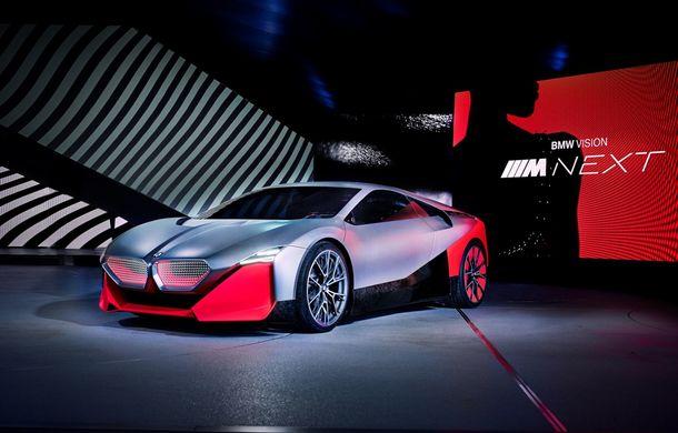 BMW a prezentat conceptul Vision M Next: prototipul cu sistem plug-in hybrid cu 600 CP anticipează viitorul modelelor din gama M - Poza 20