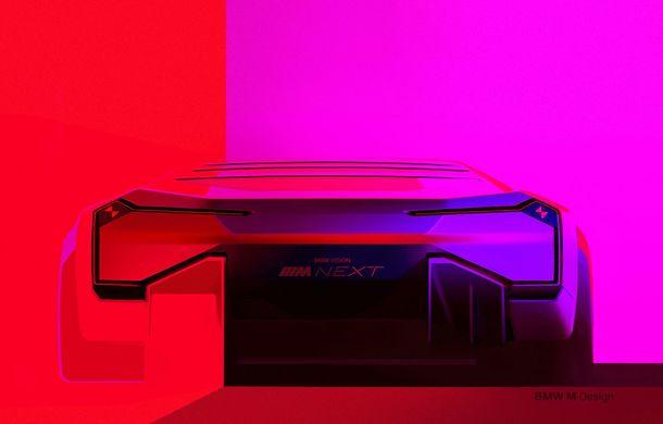 BMW a prezentat conceptul Vision M Next: prototipul cu sistem plug-in hybrid cu 600 CP anticipează viitorul modelelor din gama M - Poza 51