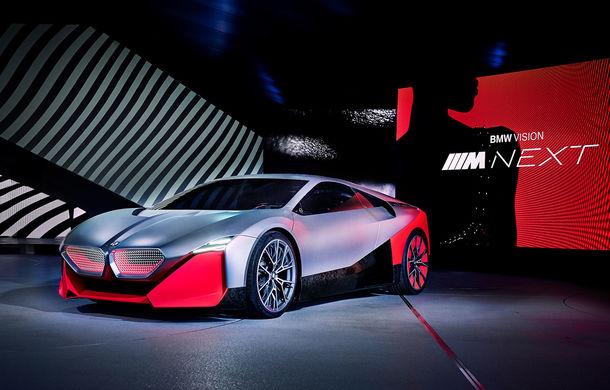 BMW a prezentat conceptul Vision M Next: prototipul cu sistem plug-in hybrid cu 600 CP anticipează viitorul modelelor din gama M - Poza 1