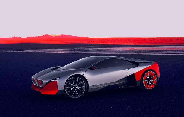 BMW a prezentat conceptul Vision M Next: prototipul cu sistem plug-in hybrid cu 600 CP anticipează viitorul modelelor din gama M - Poza 18