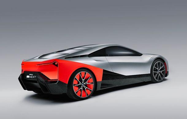 BMW a prezentat conceptul Vision M Next: prototipul cu sistem plug-in hybrid cu 600 CP anticipează viitorul modelelor din gama M - Poza 4