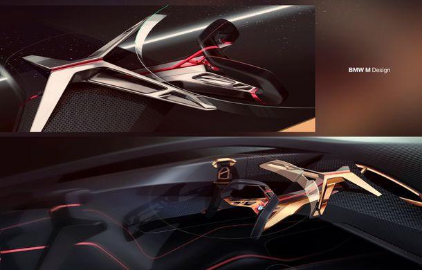 BMW a prezentat conceptul Vision M Next: prototipul cu sistem plug-in hybrid cu 600 CP anticipează viitorul modelelor din gama M - Poza 59