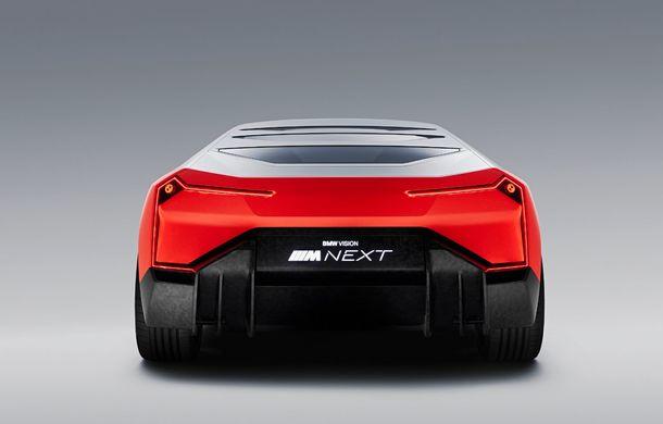 BMW a prezentat conceptul Vision M Next: prototipul cu sistem plug-in hybrid cu 600 CP anticipează viitorul modelelor din gama M - Poza 6