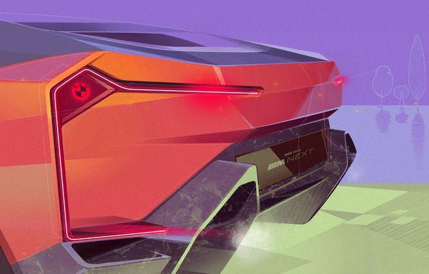 BMW a prezentat conceptul Vision M Next: prototipul cu sistem plug-in hybrid cu 600 CP anticipează viitorul modelelor din gama M - Poza 55
