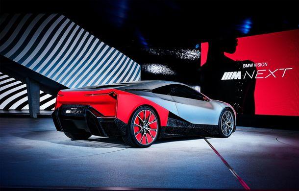 BMW a prezentat conceptul Vision M Next: prototipul cu sistem plug-in hybrid cu 600 CP anticipează viitorul modelelor din gama M - Poza 21