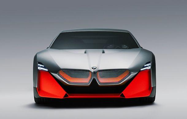 BMW a prezentat conceptul Vision M Next: prototipul cu sistem plug-in hybrid cu 600 CP anticipează viitorul modelelor din gama M - Poza 5