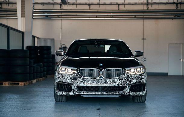 BMW Seria 5 a fost transformat în cobai pentru testarea viitoarelor sisteme electrice de propulsie: trei motoare și peste 720 CP - Poza 6