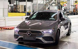 Mercedes a început producția noului CLA Shooting Brake: modelul este construit în Ungaria, la Kecskemet