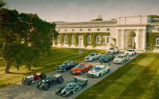 Petrecere în aer liber: Bentley aduce la Goodwood 30 de modele speciale cu ocazia aniversării centenarului mărcii