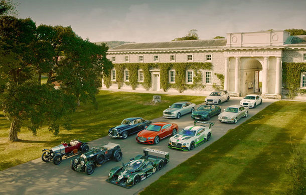 Petrecere în aer liber: Bentley aduce la Goodwood 30 de modele speciale cu ocazia aniversării centenarului mărcii - Poza 1