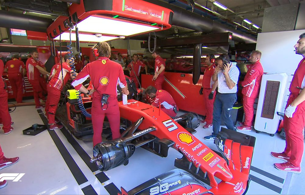 Leclerc, pole position în Austria în fața lui Hamilton și Verstappen! Vettel, locul 9 după o defecțiune tehnică la motor - Poza 2