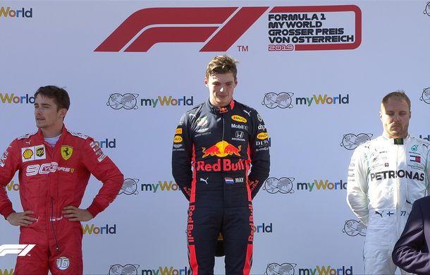 Verstappen a câștigat cursa din Austria după un start ratat! Leclerc și Bottas au completat podiumul - Poza 6