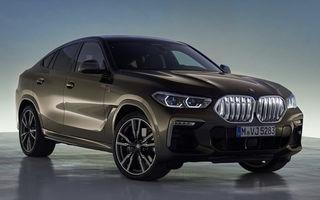 Primele fotografii cu noua generație BMW X6 au