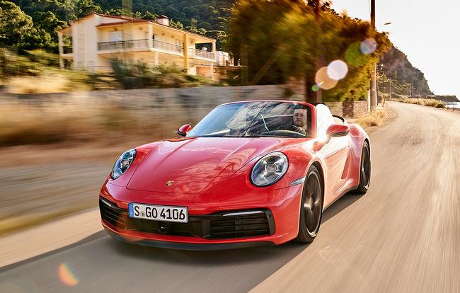 Test drive Porsche 911 Cabrio