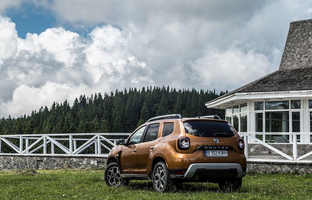 Dacia, la înălțime: test de conexiune cu Duster Connected by Orange - Poza 9