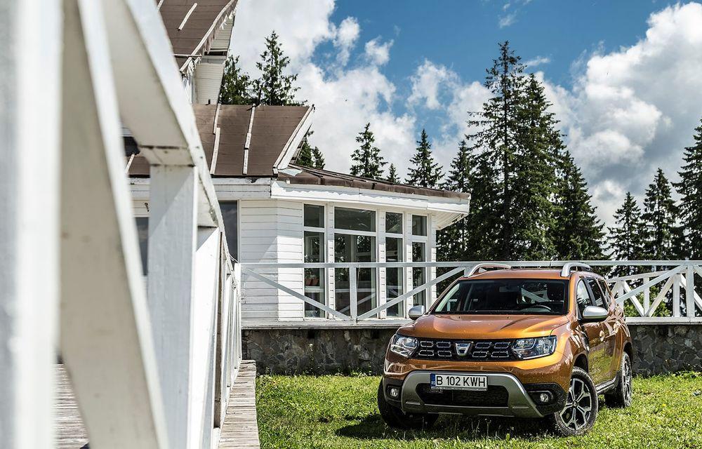 Dacia, la înălțime: test de conexiune cu Duster Connected by Orange - Poza 7