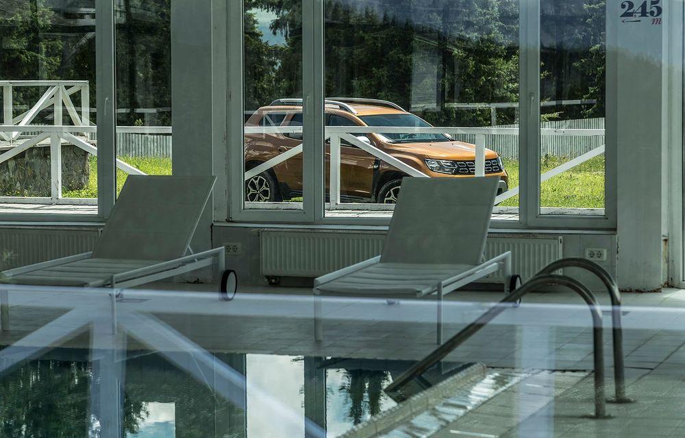Dacia, la înălțime: test de conexiune cu Duster Connected by Orange - Poza 8