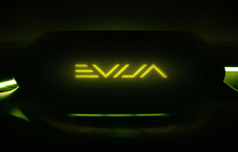 Lotus confirmă numele Evija pentru noul său hypercar: va fi dezvăluit pe 16 iulie și va intra în producție anul viitor - Poza 1