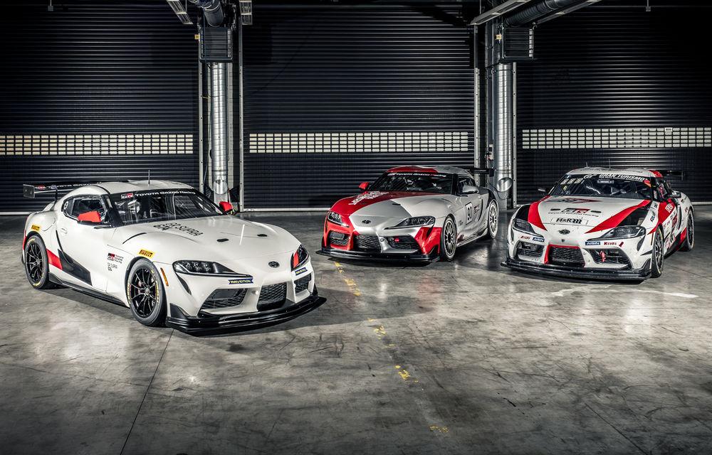 Conceptul Toyota GR Supra GT4 va primi o versiune de serie pentru circuit: lansarea este programată pentru 2020 - Poza 11
