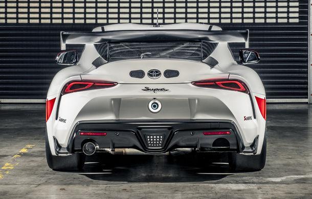 Conceptul Toyota GR Supra GT4 va primi o versiune de serie pentru circuit: lansarea este programată pentru 2020 - Poza 5