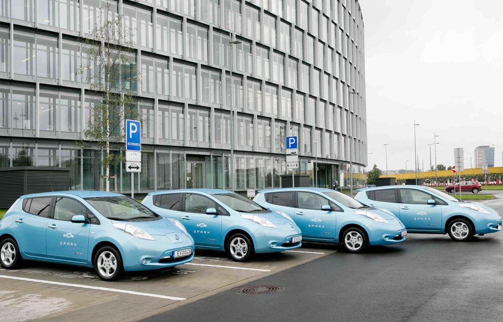 Un nou serviciu de car-sharing în România: Spark va folosi doar mașini electrice și se lansează în 10 iulie - Poza 1