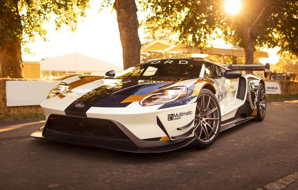 Ford a dezvăluit o versiune de circuit a supercarului GT: noul Ford GT Mk II are 700 de cai putere și costă un milion de euro - Poza 1