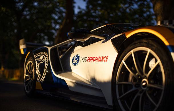 Ford a dezvăluit o versiune de circuit a supercarului GT: noul Ford GT Mk II are 700 de cai putere și costă un milion de euro - Poza 7