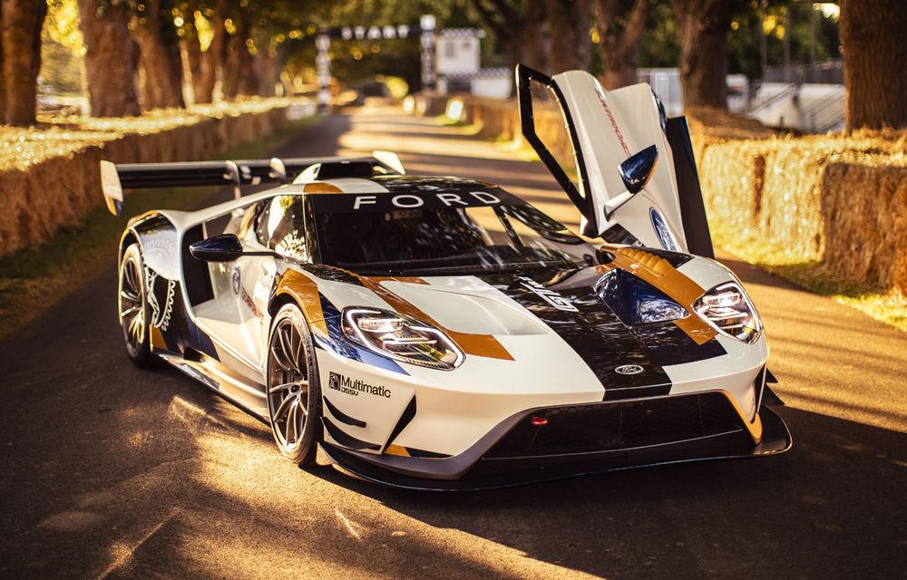 Ford a dezvăluit o versiune de circuit a supercarului GT: noul Ford GT Mk II are 700 de cai putere și costă un milion de euro - Poza 3