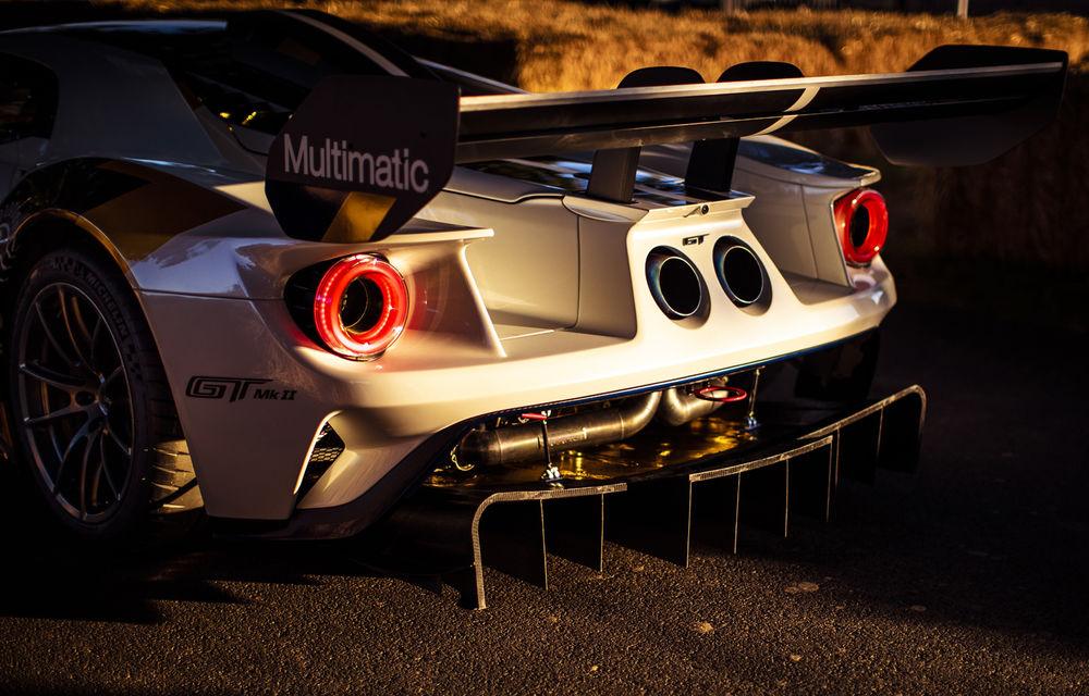 Ford a dezvăluit o versiune de circuit a supercarului GT: noul Ford GT Mk II are 700 de cai putere și costă un milion de euro - Poza 12