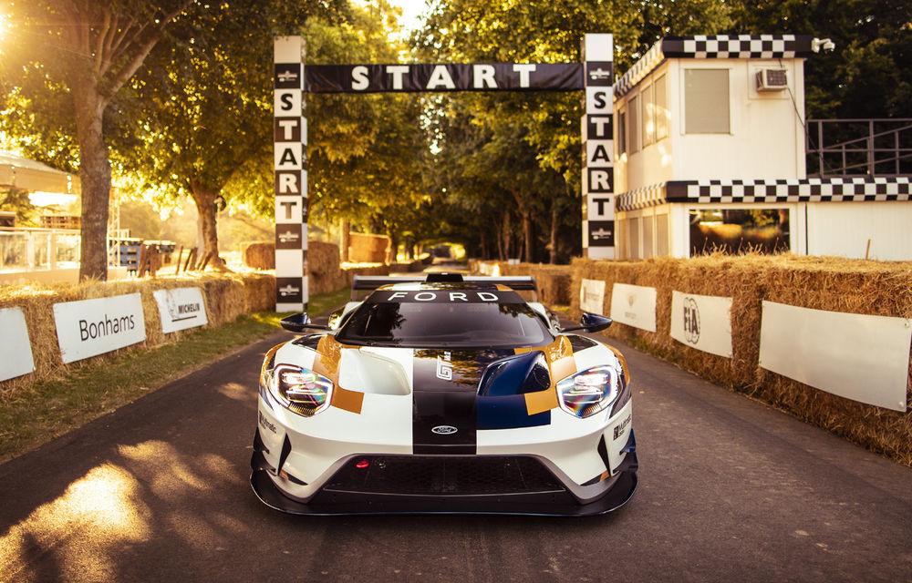 Ford a dezvăluit o versiune de circuit a supercarului GT: noul Ford GT Mk II are 700 de cai putere și costă un milion de euro - Poza 4