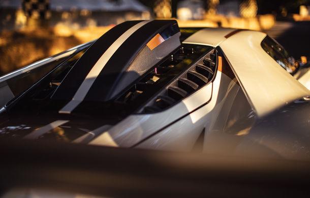 Ford a dezvăluit o versiune de circuit a supercarului GT: noul Ford GT Mk II are 700 de cai putere și costă un milion de euro - Poza 11