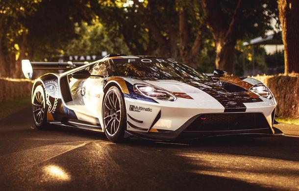 Ford a dezvăluit o versiune de circuit a supercarului GT: noul Ford GT Mk II are 700 de cai putere și costă un milion de euro - Poza 2