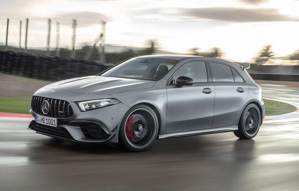 Mercedes a prezentat noile AMG A 45 și AMG CLA 45: motor de 2.0 litri în versiuni de 387 CP și 421 CP - Poza 1