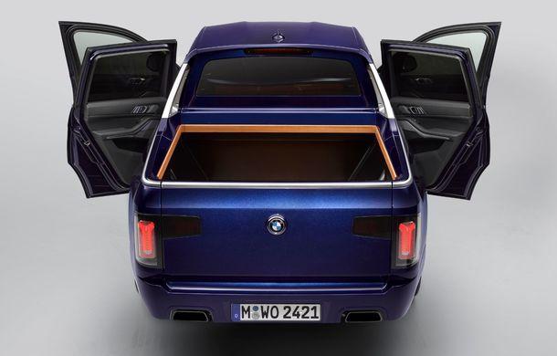 Proiect inedit: un BMW X7 a fost transformat în pick-up de stagiarii din cadrul uzinei din Munchen - Poza 11