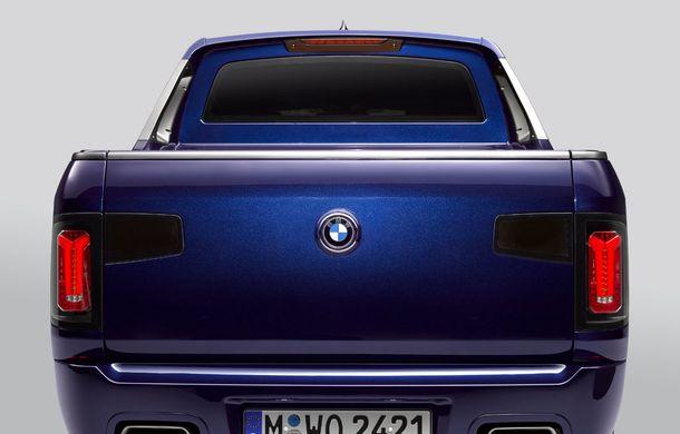 Proiect inedit: un BMW X7 a fost transformat în pick-up de stagiarii din cadrul uzinei din Munchen - Poza 14