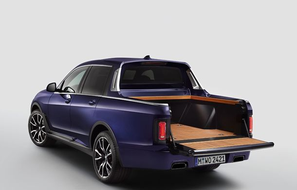 Proiect inedit: un BMW X7 a fost transformat în pick-up de stagiarii din cadrul uzinei din Munchen - Poza 3