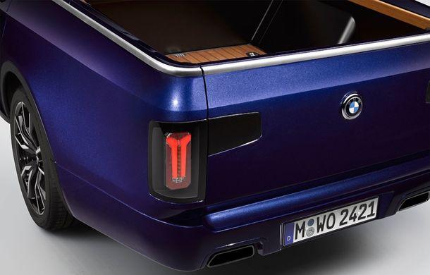 Proiect inedit: un BMW X7 a fost transformat în pick-up de stagiarii din cadrul uzinei din Munchen - Poza 18