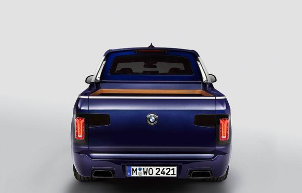 Proiect inedit: un BMW X7 a fost transformat în pick-up de stagiarii din cadrul uzinei din Munchen - Poza 9