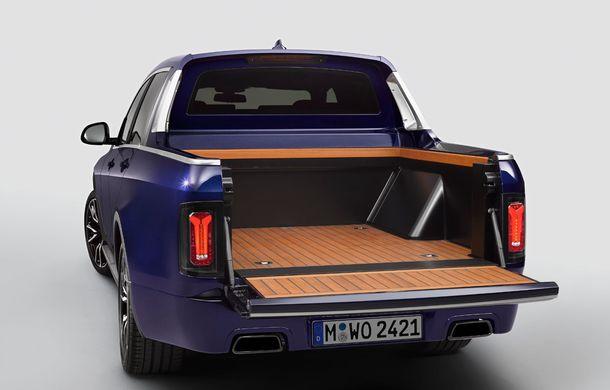 Proiect inedit: un BMW X7 a fost transformat în pick-up de stagiarii din cadrul uzinei din Munchen - Poza 8