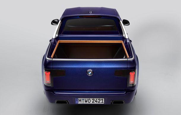 Proiect inedit: un BMW X7 a fost transformat în pick-up de stagiarii din cadrul uzinei din Munchen - Poza 10