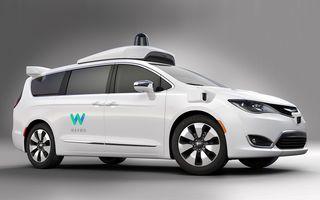 """Waymo a primit """"undă verde"""" să transporte primii pasageri cu mașini autonome: testele vor avea loc în California"""