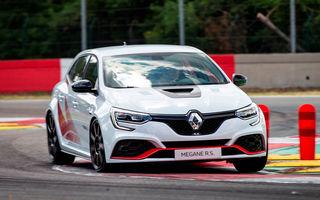Informații noi despre Renault Megane RS Trophy-R: transmisie manuală cu șase trepte și 0-100 km/h în 5.4 secunde