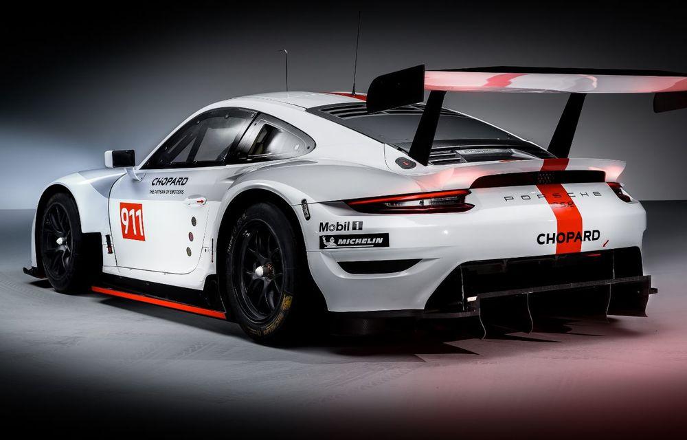 Îmbunătățiri pentru versiunea de circuit Porsche 911 RSR: motor boxer de 4.2 litri amplasat central și până la 515 CP - Poza 6