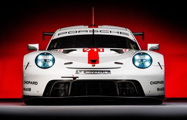 Îmbunătățiri pentru versiunea de circuit Porsche 911 RSR: motor boxer de 4.2 litri amplasat central și până la 515 CP - Poza 3