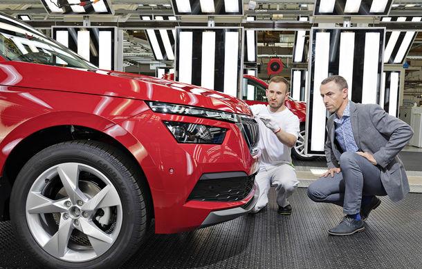 Skoda a început producția modelului Kamiq: SUV-ul compact este asamblat la uzina din Mlada Boleslav - Poza 2