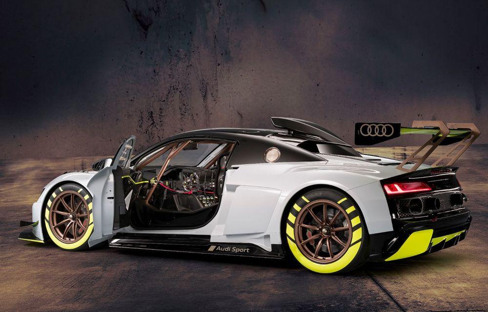 Audi a lansat noul R8 LMS GT2: versiunea de competiții cântărește 1.350 de kilograme și promite 640 CP - Poza 6