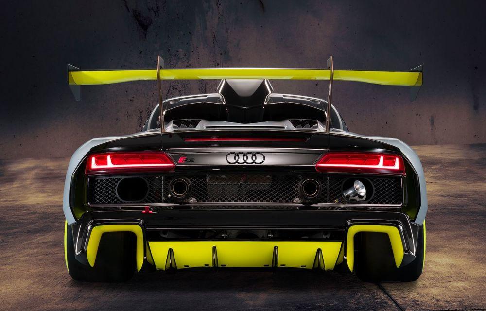 Audi a lansat noul R8 LMS GT2: versiunea de competiții cântărește 1.350 de kilograme și promite 640 CP - Poza 7