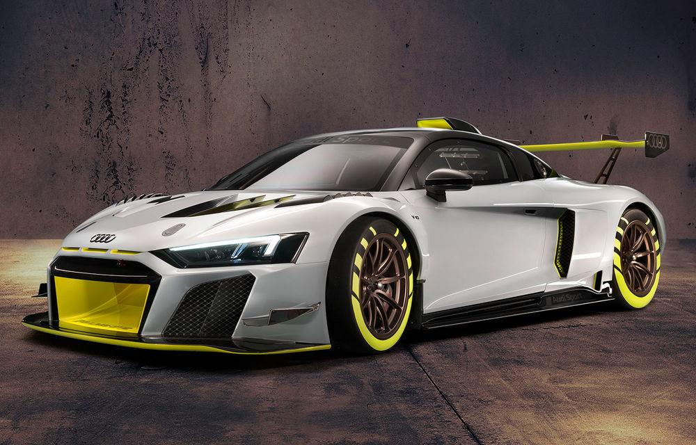 Audi a lansat noul R8 LMS GT2: versiunea de competiții cântărește 1.350 de kilograme și promite 640 CP - Poza 1